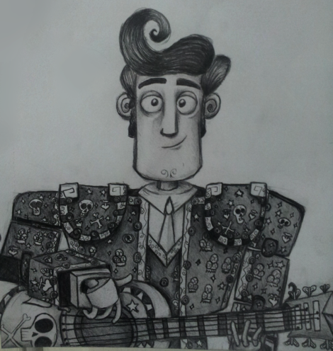 Book of Life Movie Review--Illustration (Drawn by Jessica Prescott)